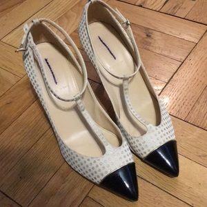 Jcrew Cap Toe Shoes 9M